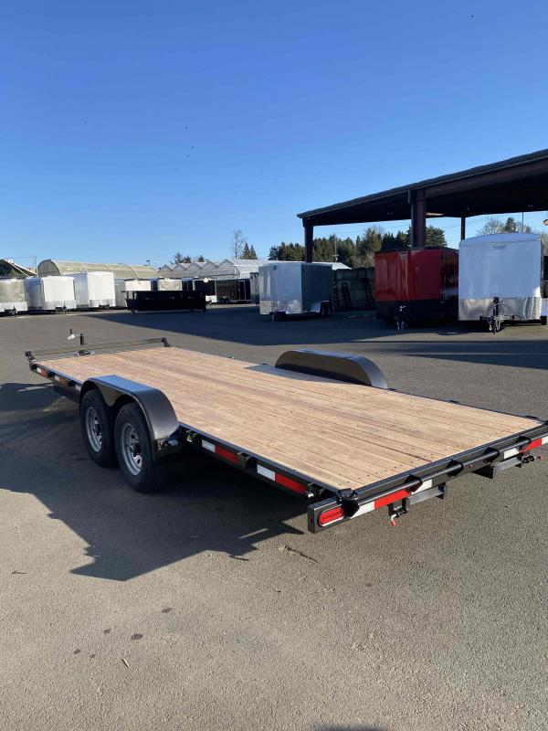 2021 Summit 7 X 20 10K CASCADE FLATBED Flatbed Trailer