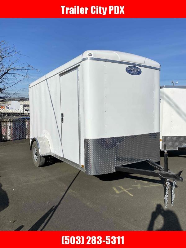 2021 Continental Cargo 6 X 12 3K CARGO WHITE TALL Enclosed Cargo Trailer