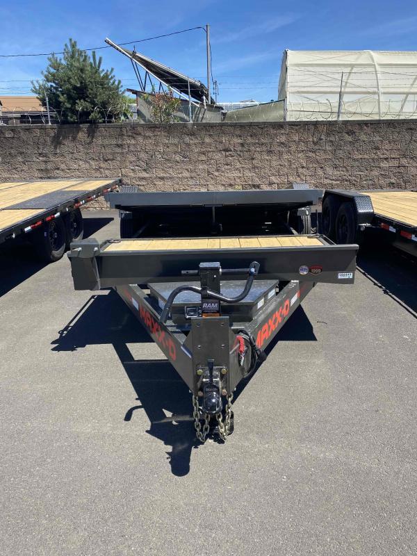 """MAXXD G8X - 8"""" Gravity Equipment Tilt Trailer Equipment Trailer"""