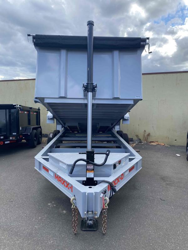 MAXXD 7 X 16 17.5K DTX Telescoping Dump Trailer Dump Trailer
