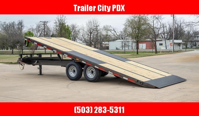 MAXXD TOX - 14K Power Tilt Deckover Trailer Flatbed Trailer