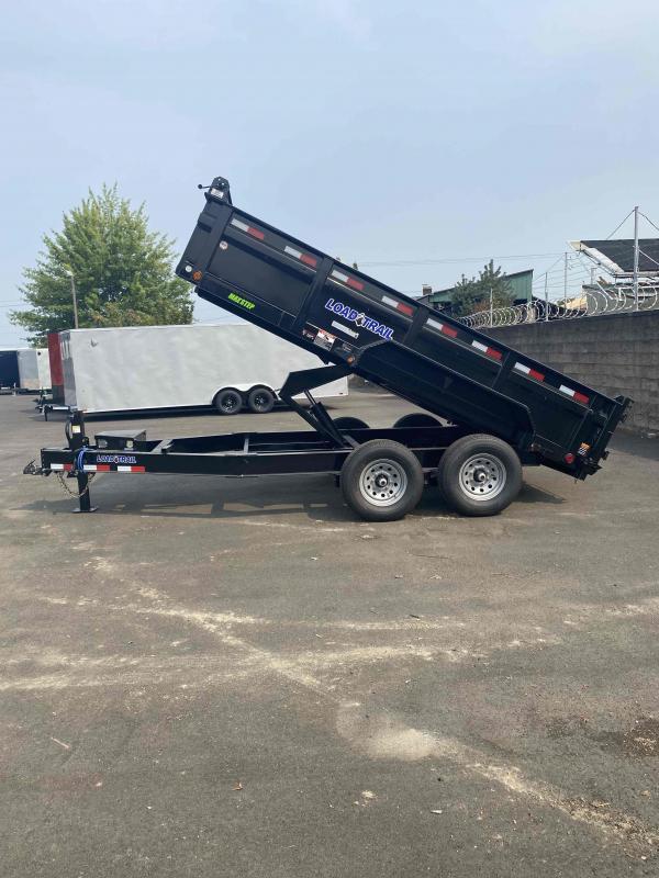 Load Trail LOAD TRAIL 7 X14 14K RAMPS TARP HEAVY DUTY DUMP Dump Trailer
