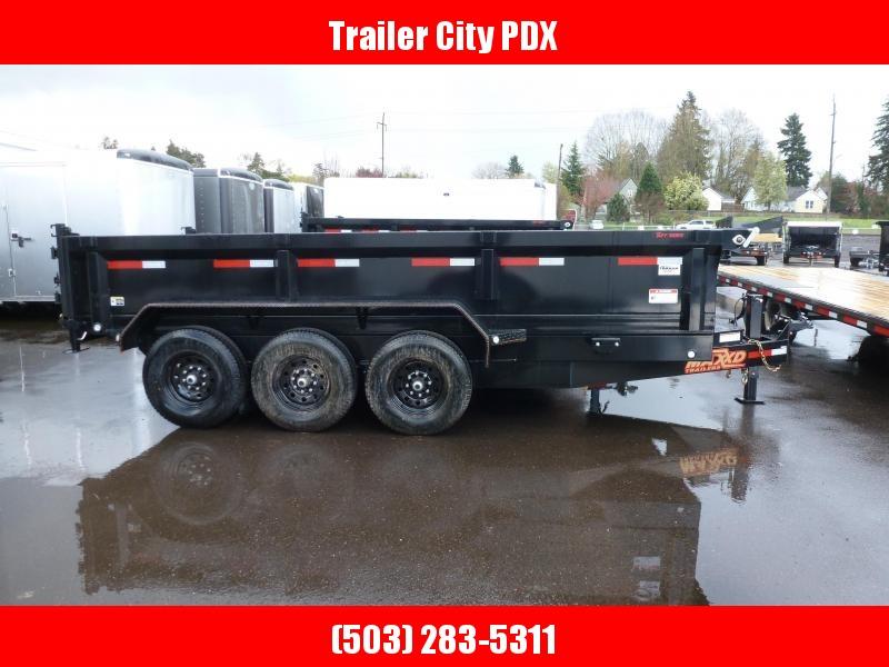 """2020 MAXXD DHX -16' X 83"""" 21K Super HD Dump Trailer Dump Trailer"""
