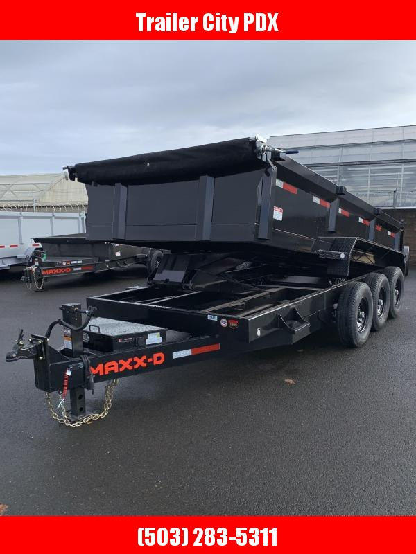 """2021 MAXXD DHX -16' X 83"""" 21K Super HD Dump Trailer Dump Trailer"""