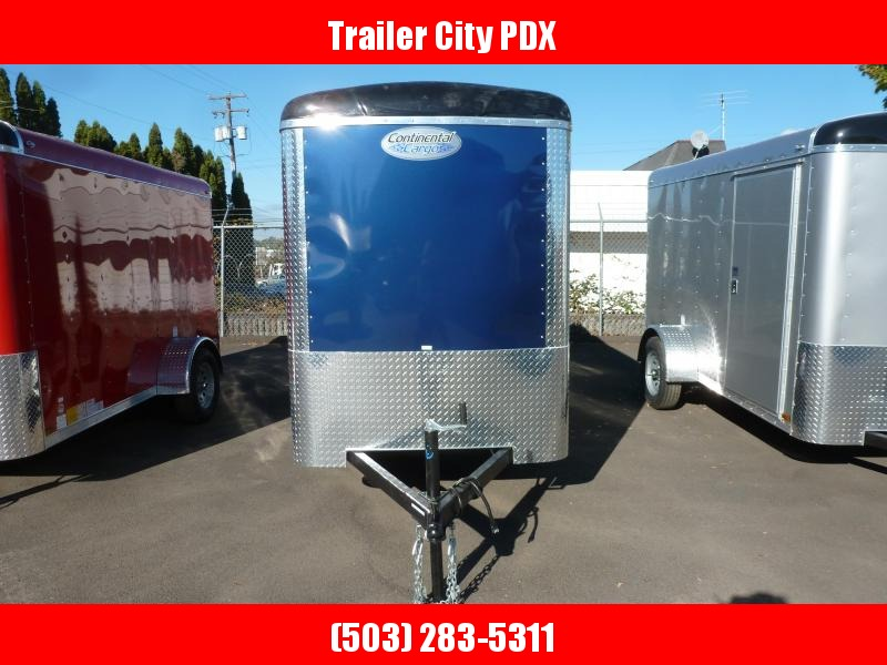 2021 Continental Cargo 5 X10 3K INDIGO BLUE SUPER TALL Enclosed Cargo Trailer