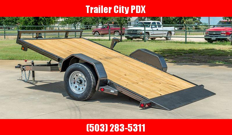 "MAXXD 14' X 77"" 3K GRAVITY QUICK TILT Flatbed Trailer"