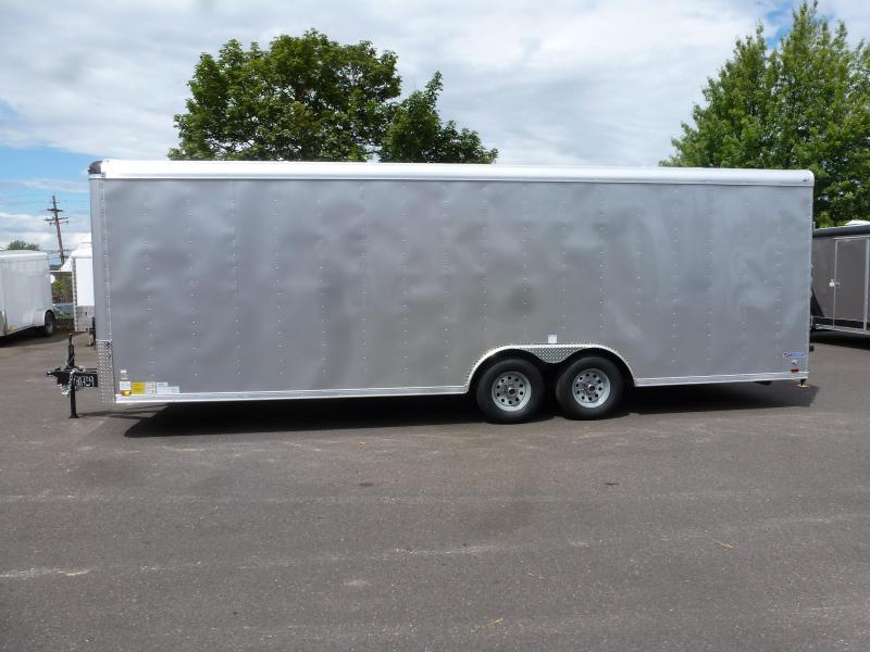 2020 Continental Cargo 8.5 X 24 10K RAMP DIAMOND ICE RAMP Enclosed Cargo Trailer