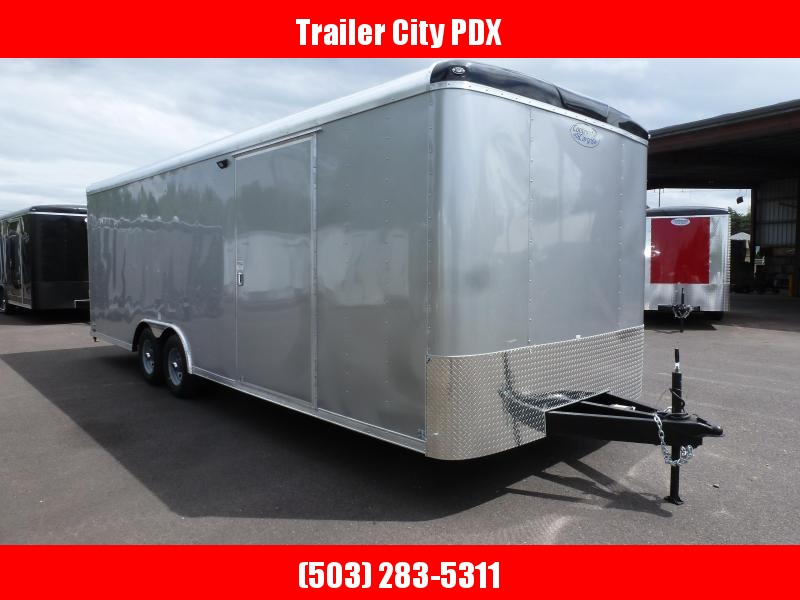 2020 Continental Cargo 8.5 X 24 10K RAMP DIAMOND ICE RAMP Enclosed Cargo Trailer
