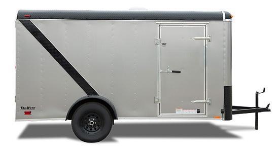 2020 Continental Cargo 6 X 12 3K RAMP WHITE Enclosed Cargo Trailer