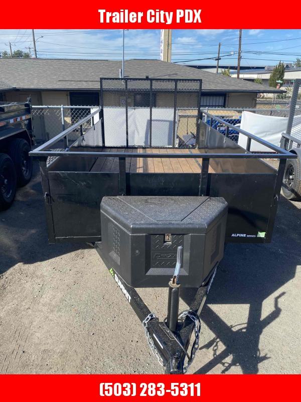 USED Summit 6 x 12 3k utility ramp w/tire Utility Trailer