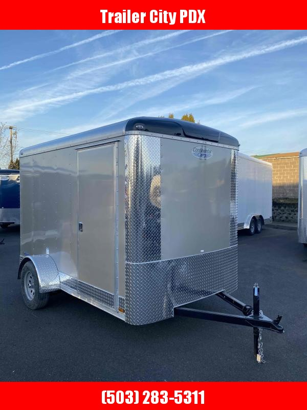 2021 Continental Cargo 6X10 3K TALL RAMP CHAMPAGNE BEIGE Enclosed Cargo Trailer
