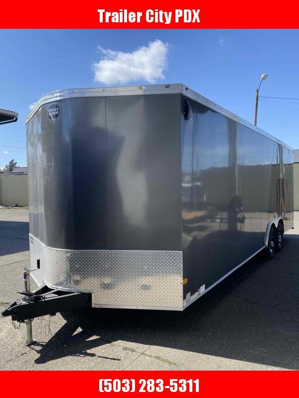 2021 Wells Cargo 8.5X24 10K Enclosed Cargo Trailer
