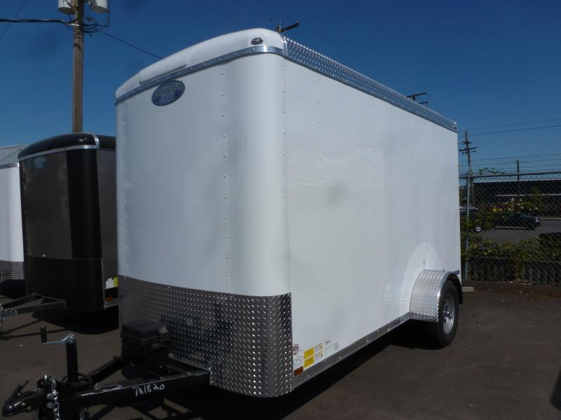 2020 Continental Cargo 6 X 12 3K SUPER TALL WHITE CUSTOM Enclosed Cargo Trailer