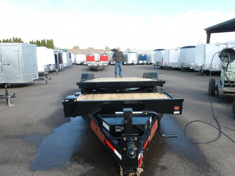 "2020 MAXXD 22' X 83"" 17.5K HD GRAVITY EQUIPMENT TRAILER Equipment Trailer"