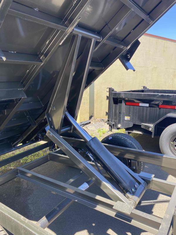 "MAXXD D6X - 60"" 3FT SIDES. Scissor Lift Dump Trailer Dump Trailer"
