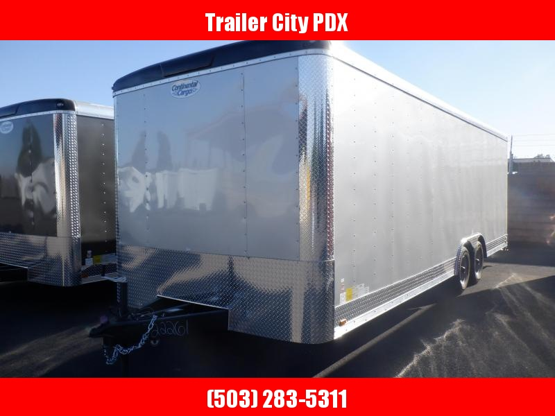 2020 Continental Cargo 8.5 X 24 CARHAULER RAMP DIAMOND ICE Enclosed Cargo Trailer