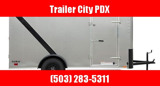 2021 Continental Cargo 6X10 3K RAMP CHARCOAL Enclosed Cargo Trailer