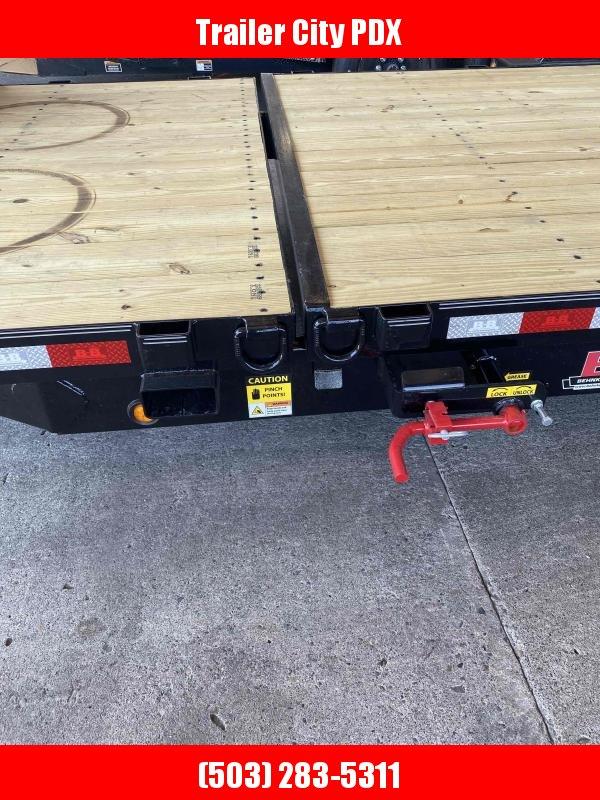 7 X 20 16K SPLIT TILT SPARE TIRE Equipment Trailer
