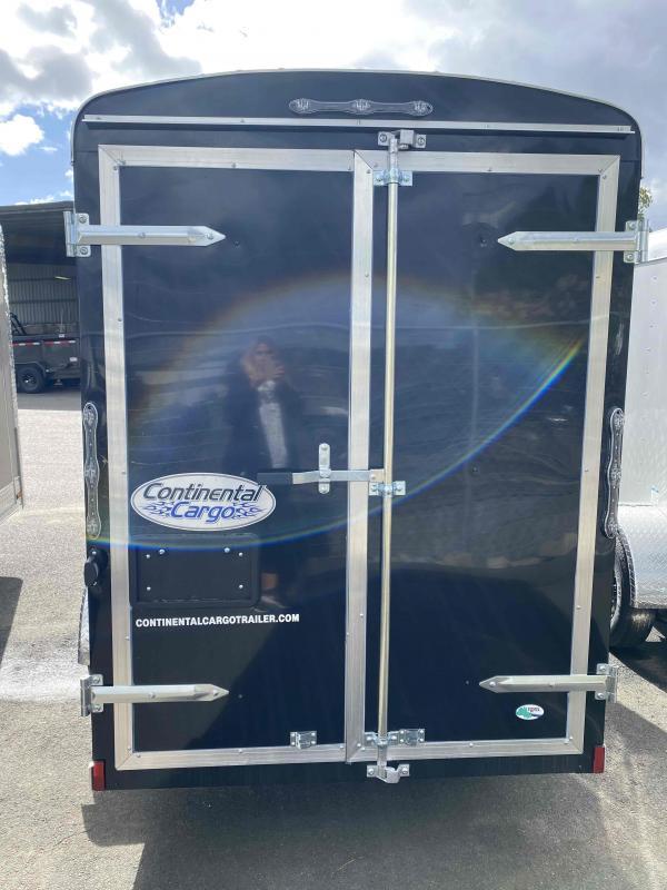 Continental Cargo 5 x 10 3k supertall Black Cargo Enclosed Cargo Trailer