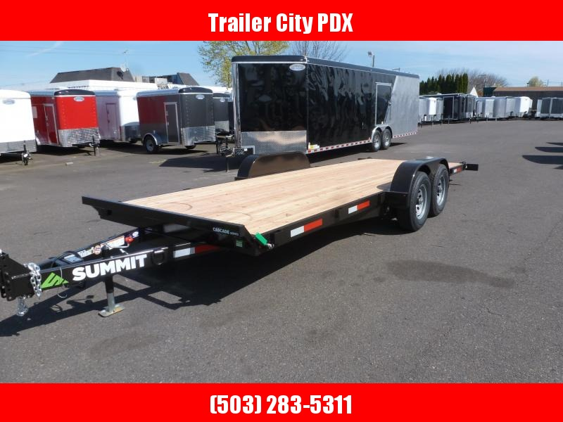 2020 Summit 7 X 20 10K Tilt Flatbed Trailer