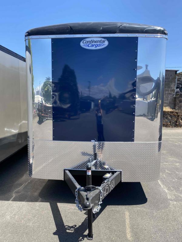 Continental Cargo 7 X 20 7L TALL RAMP WINDOWS Enclosed Cargo Trailer
