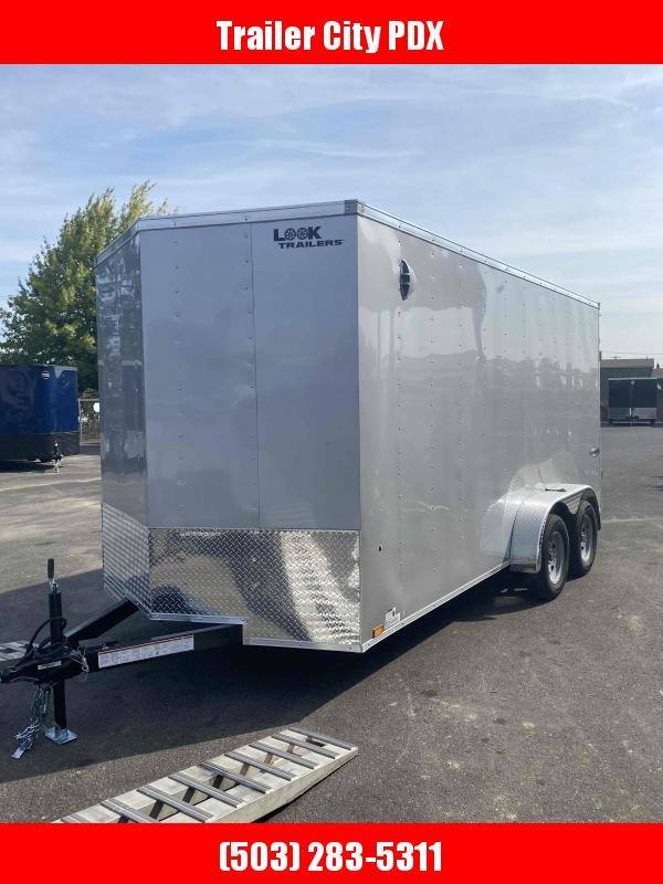 Look Trailers 7.0 X 16 7K RAMP Enclosed Cargo Trailer