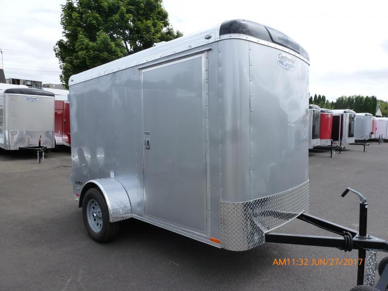 2020 Continental Cargo 5 X 8 3K CARGO SUPER TALL DIAMOND ICE Enclosed Cargo Trailer