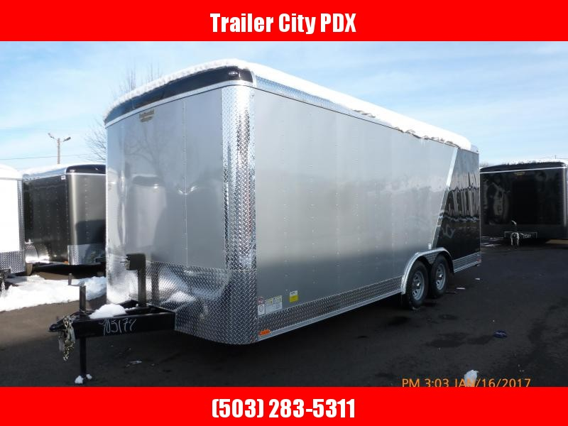 2020 Continental Cargo 8 X 20 10K RAMP 2 TONE Enclosed Cargo Trailer