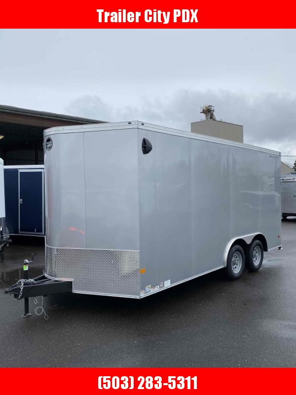 2021 Wells Cargo 8.5X16 7K ROAD FORCE RAMP Enclosed Cargo Trailer