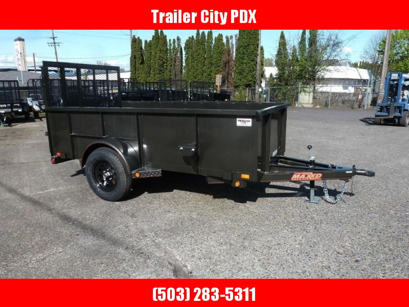 MAXXD 5x10' SINGLE AXLE UTILITY
