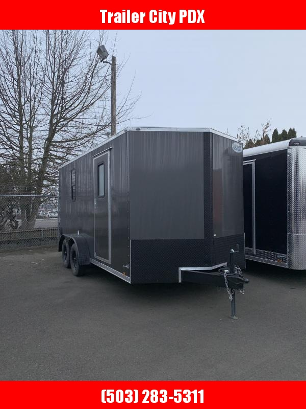 2021 Continental Cargo V-Series 7K 7X16 Enclosed Cargo Trailer