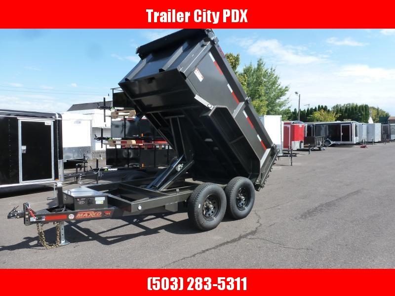 MAXXD 6 X 10 12K 3' sides Dump Trailer. TARP. RAMPS