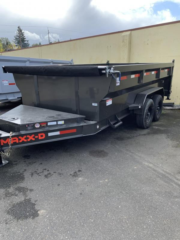 "2021 MAXXD DJX - 14' X 83"" I-Beam Dump Trailer Dump Trailer"