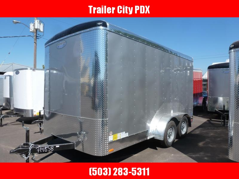 2021 Continental Cargo 7 X 14 7K RAMP TALL DIAMOND ICE TAILWIND Enclosed Cargo Trailer