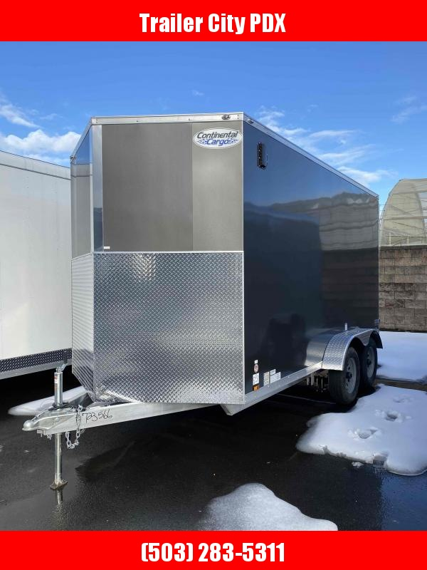 2021 Continental Cargo 7 X 14 V-Series Aluminum 7K Enclosed Cargo Trailer