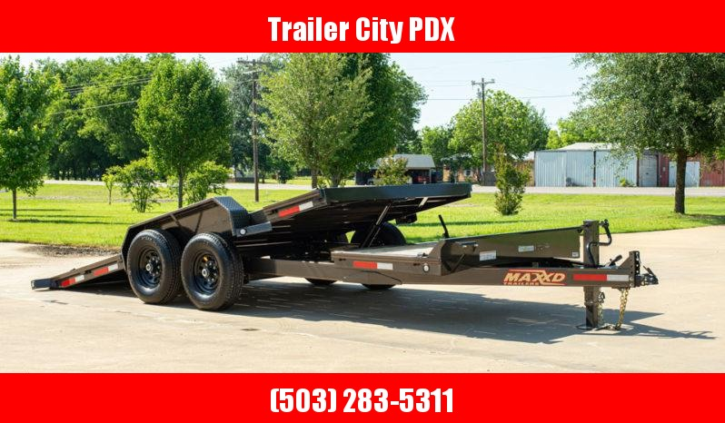 "2021 MAXXD 20' X 83"" G6X - 6"" Gravity Equipment Tilt Trailer Equipment Trailer"