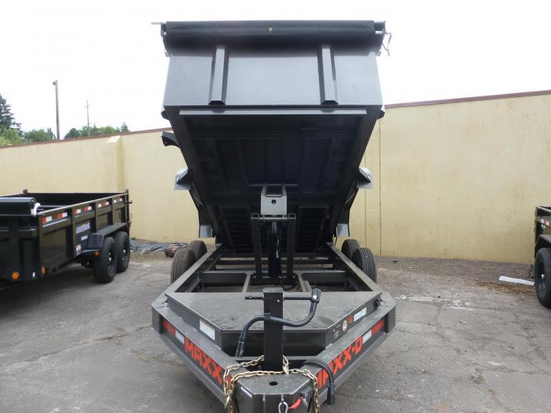 2020 MAXXD DJX - 7 X 14 14K 3FT SIDES I-Beam Dump Trailer Dump Trailer