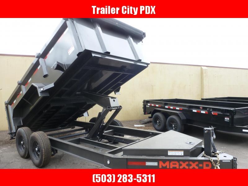 2021 MAXXD DJX - 7 X 14 14K 3FT SIDES I-Beam Dump Trailer Dump Trailer