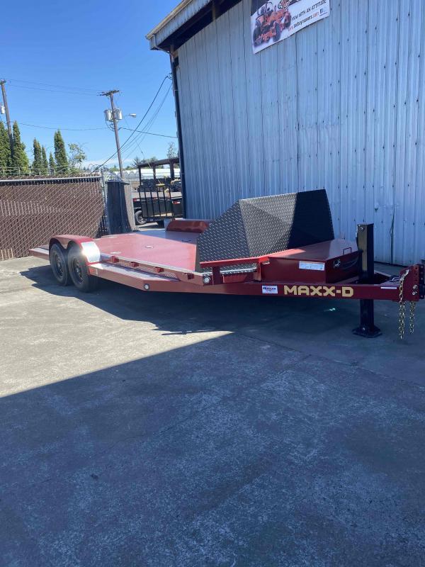 "MAXXD N6X - 6"" Tube Frame Car Trailer Car / Racing Trailer"