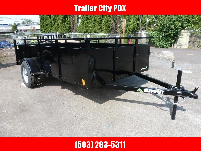 2020 Summit 6 X 12 3K ALPINE SPLIT RAMPS Utility Trailer