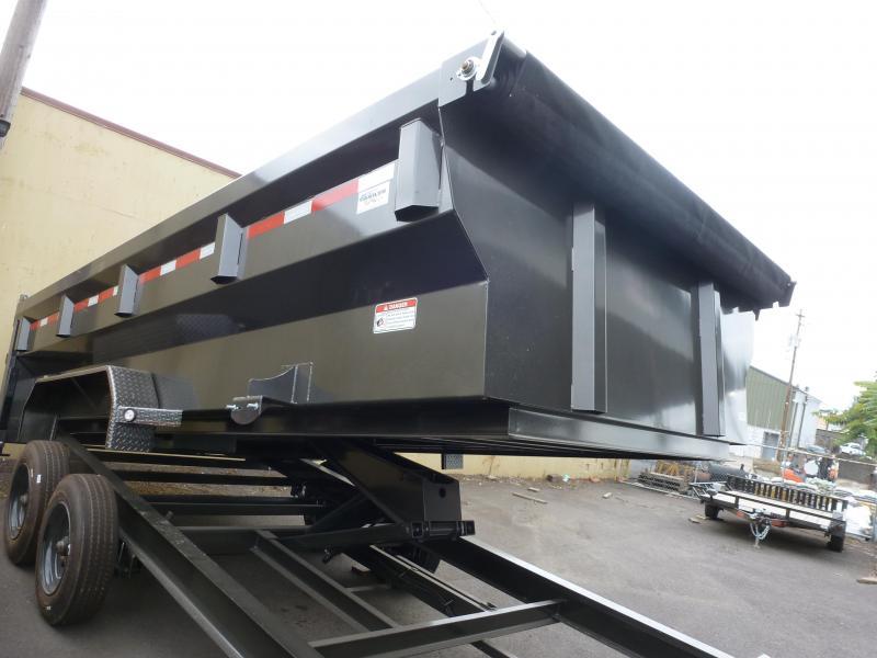 2020 MAXXD DJX -7X 16 17.K FLARE SIDES I-Beam Dump Trailer Dump Trailer