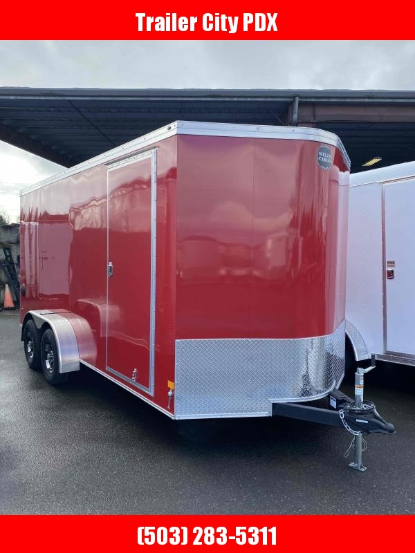 2021 Wells Cargo 7x16 7k ROAD FORCE RAMP Enclosed Cargo Trailer