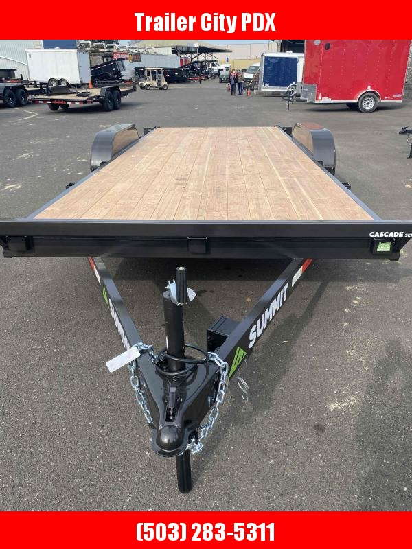 2021 Summit C5FB718TA3 Flatbed Trailer