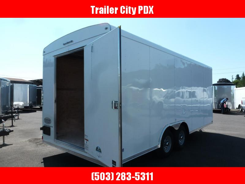 2020 Continental Cargo 8 X 20 10K WIDE BODY/DOOR IN REAR Enclosed Cargo Trailer