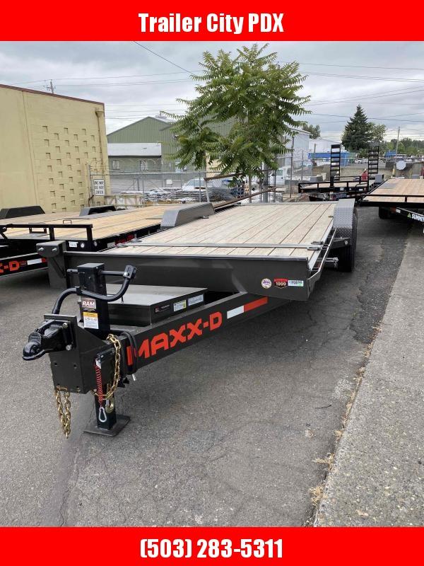 MAXXD 7 X 22 14K GRAVITY EQUIPMENT TRAILER Equipment Trailer