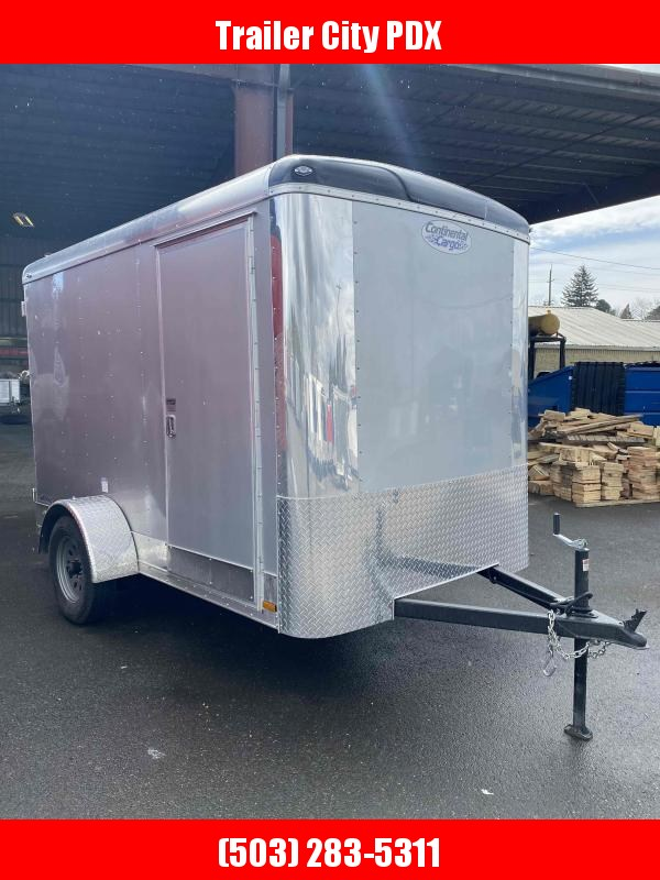 2021 Continental Cargo 6 X 10 3K CARGO DOORS TALL DIAMOND ICE Enclosed Cargo Trailer