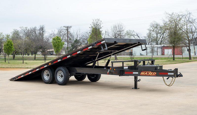 2021 MAXXD TOX - 14K Power Tilt Deckover Trailer Equipment Trailer