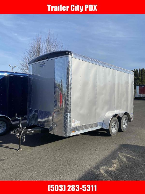 2021 Continental Cargo 7X14 RAMP DIAMOND ICE Enclosed Cargo Trailer
