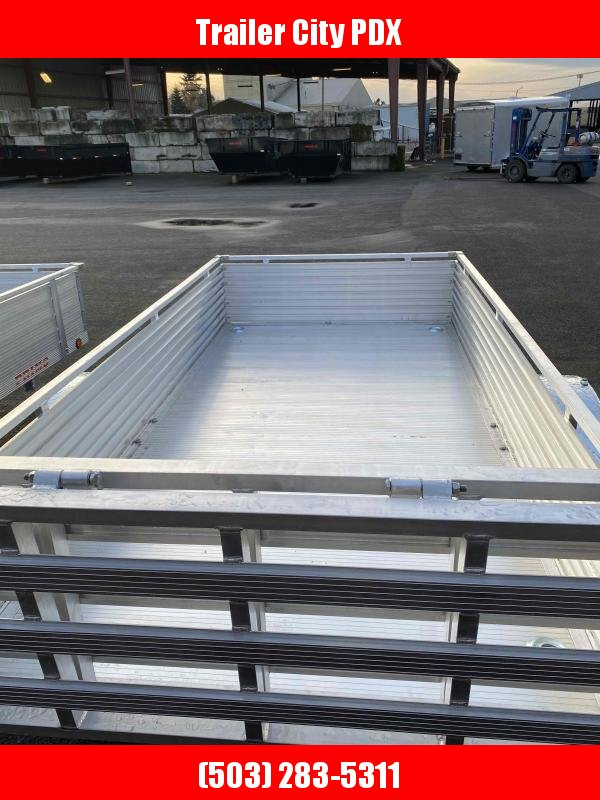 "2021 Primo 5X10 16"" SIDES ALL ALUMINUM Utility Trailer"