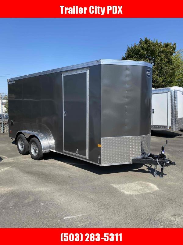 2022 Wells Cargo 7 X 16 7K RAMP Enclosed Cargo Trailer